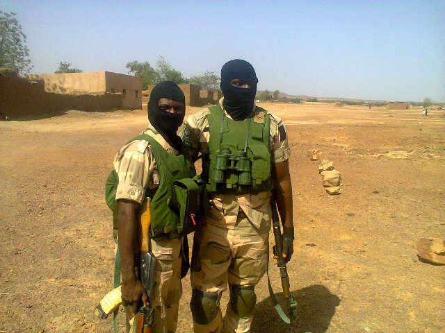 Nigerian Army soldiers in Mali