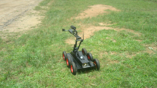 Made-in-Nigeria bomb detonating robot produced by the Air Force Institute of Technology