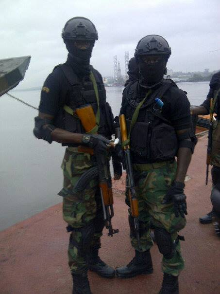 Nigerian Army Special Forces commandos