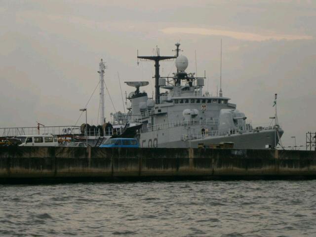 NNS ARADU F90, spotted in Lagos 7th December , 2013