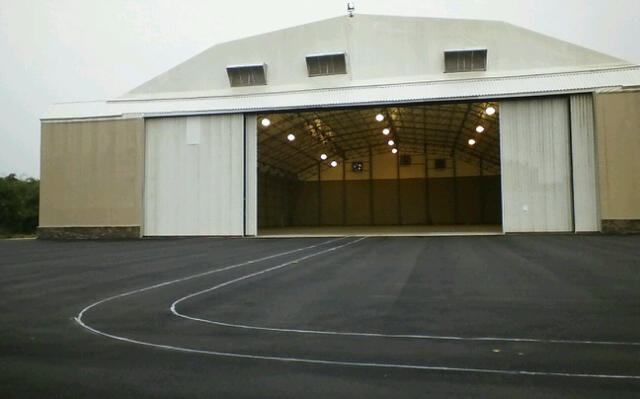 Yet another new hangar. What are we expecting?